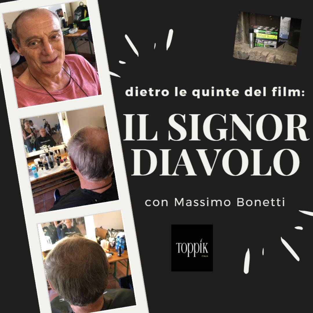 """TOPPIK SPONSOR PER IL FILM """"IL SIGNOR DIAVOLO"""""""